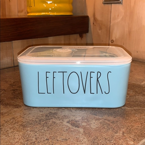 """Rae Dunn """"Leftovers"""" container"""